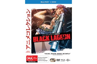 Black Lagoon Complete Season 1 with DVD Double Play Blu-ray Region 4