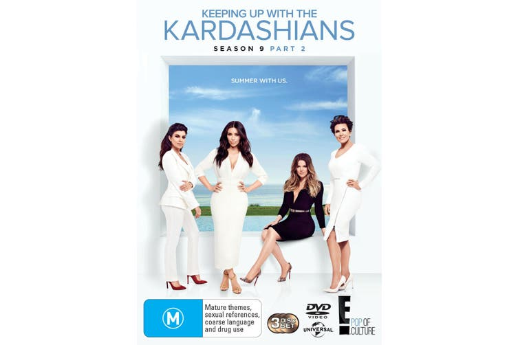Keeping Up With the Kardashians Season 9 Part 2 DVD Region 4