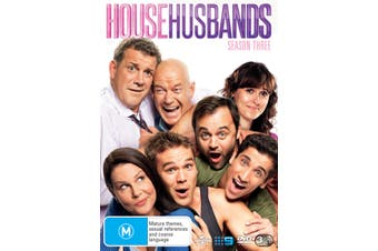 House Husbands Season 3 DVD Region 4
