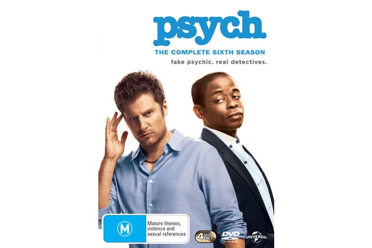 Psych The Complete Sixth Season 6 DVD Region 4