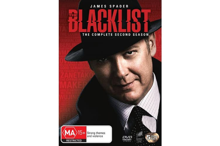 The Blacklist The Complete Second Season 2 DVD Region 4