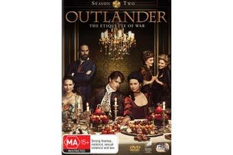 Outlander Season 2 DVD Region 4