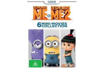 Despicable Me / Despicable Me 2 6 Mini movies Collection DVD Region 4