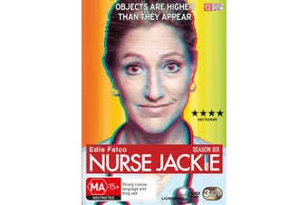 Nurse Jackie Season 6 DVD Region 4