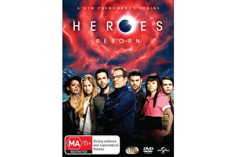 Heroes Reborn DVD Region 4