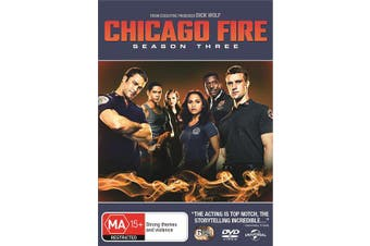 Chicago Fire Season 3 DVD Region 4