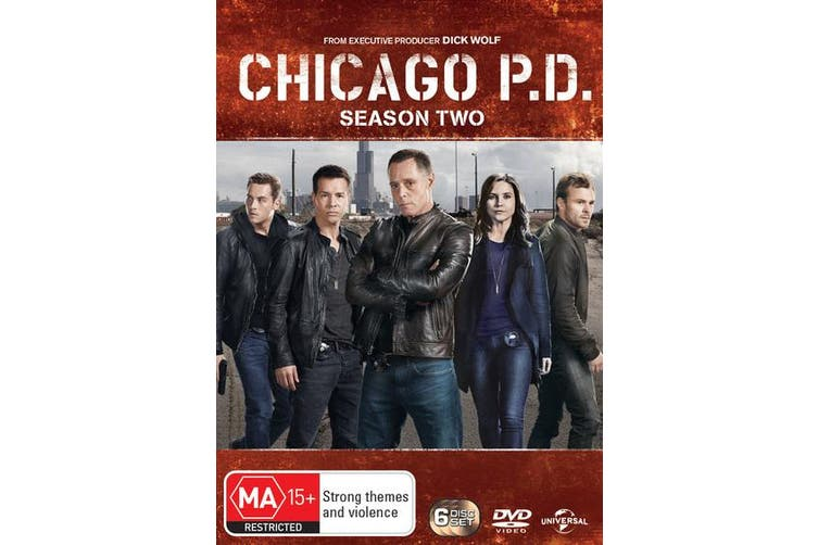 Chicago PD Season 2 DVD Region 4