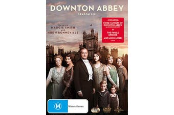 Downton Abbey Series 6 Box Set DVD Region 4