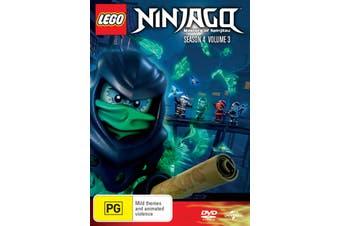 LEGO Ninjago Masters of Spinjitzu Season 4 Volume 3 DVD Region 4