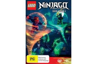 LEGO Ninjago Masters of Spinjitzu Season 4 Volume 4 DVD Region 4