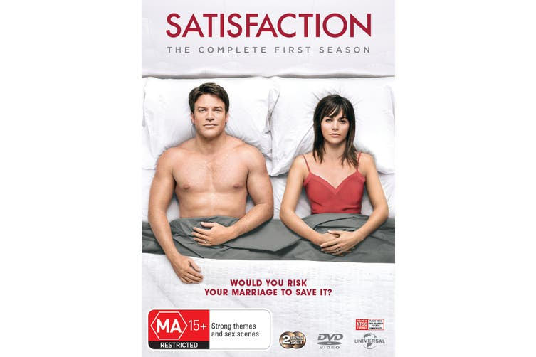 Satisfaction The complete First Season 1 DVD Region 4