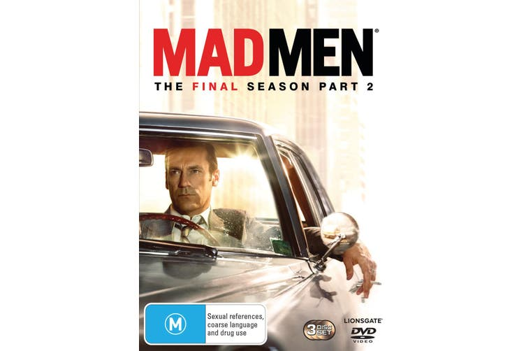 Mad Men The Final Season Part 2 DVD Region 4