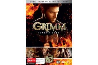 Grimm Season 5 DVD Region 4