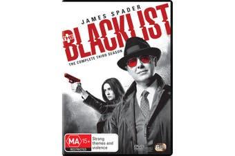 The Blacklist The Complete Third Season 3 DVD Region 4