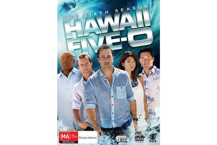 Hawaii Five 0 The Sixth Season 6 DVD Region 4