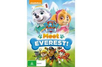 Paw Patrol Meet Everest DVD Region 4