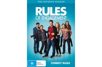 Rules of Engagement The Seventh Season 7 DVD Region 4