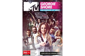 Geordie Shore The Complete Tenth Series 10 DVD Region 4