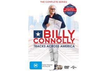 Billy Connolly Tracks Across America DVD Region 4