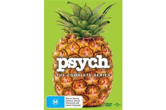 Psych The Complete Series DVD Region 4