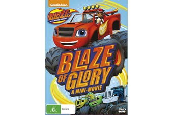 Blaze and the Monster Machines Blaze of Glory DVD Region 4