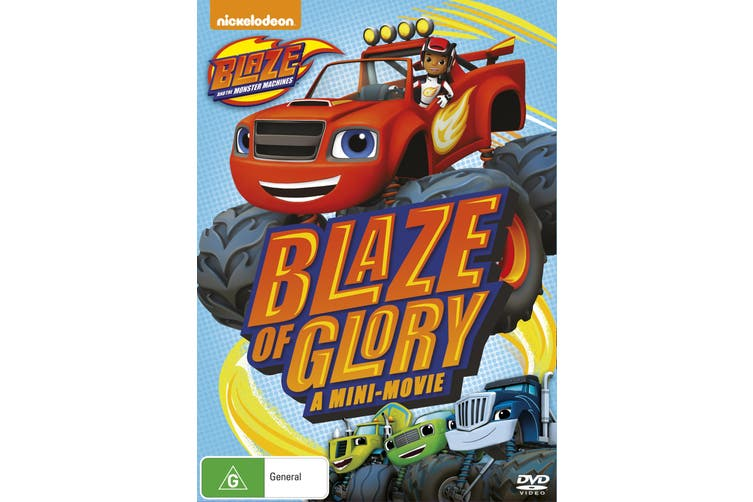 Blaze and the Monster Machines Blaze of Glory DVD Region 4