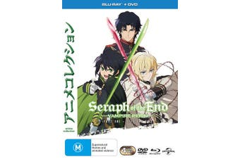 Seraph of the End Season 1 Part 1 with DVD Double Play Blu-ray Region 4