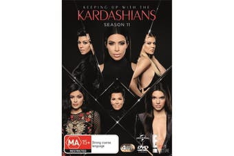 Keeping Up With the Kardashians Season 11 DVD Region 4