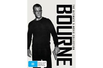 Bourne The Ultimate 5 Movie Collection Box Set DVD Region 4