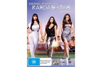 Keeping Up With the Kardashians Season 3 DVD Region 4