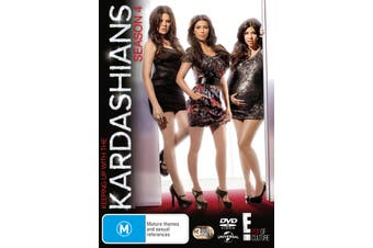Keeping Up With the Kardashians Season 4 DVD Region 4