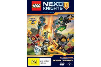 LEGO Nexo Knights Season 1 Volume 1 DVD Region 4