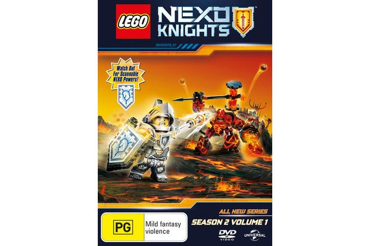 LEGO Nexo Knights Season 2 Volume 1 DVD Region 4