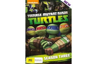 Teenage Mutant Ninja Turtles Season 3 Complete Collection DVD Region 4