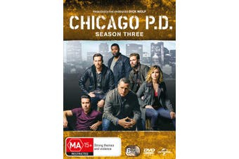 Chicago PD Season 3 DVD Region 4