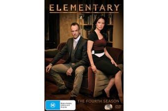 Elementary The Fourth Season 4 DVD Region 4