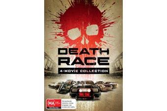 Death Race 4 Movie Collection Box Set DVD Region 4