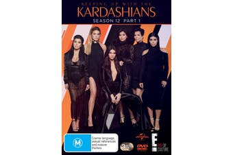 Keeping Up With the Kardashians Season 12 Part 1 DVD Region 4