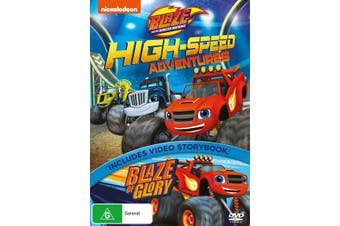 Blaze and the Monster Machines High Speed Adventures DVD Region 4