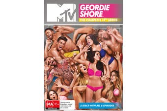 Geordie Shore Series 12 DVD Region 4