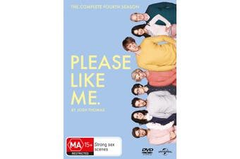 Please Like Me The Complete Fourth Season 4 DVD Region 4
