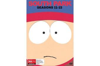 South Park Seasons 11 15 DVD Region 4