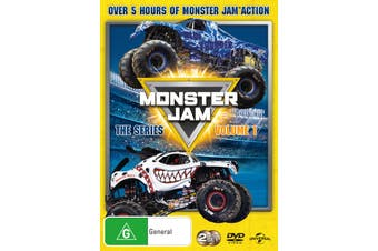Monster Jam The Series Volume 1 DVD Region 4