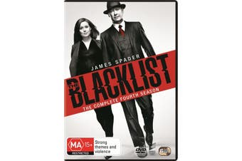 The Blacklist The Complete Fourth Season 4 DVD Region 4