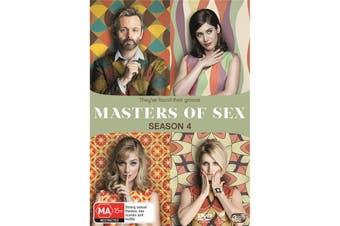 Masters of Sex Season 4 DVD Region 4