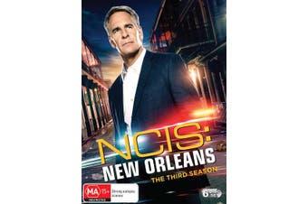 NCIS New Orleans The Third Season 3 Box Set DVD Region 4