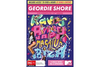 Geordie Shore Series 13 DVD Region 4