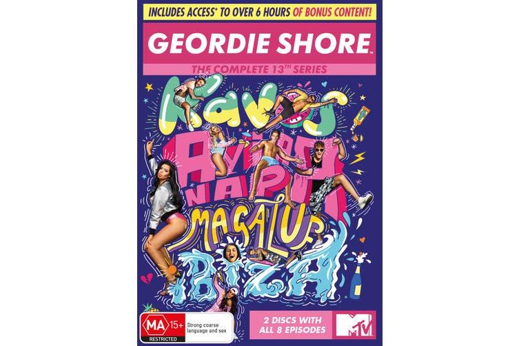 Geordie Shore Series 13 DVD Region 4