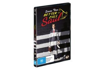 Better Call Saul Season 3 DVD Region 4
