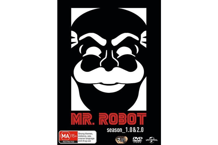 Mr Robot Season10 & 20 DVD Region 4